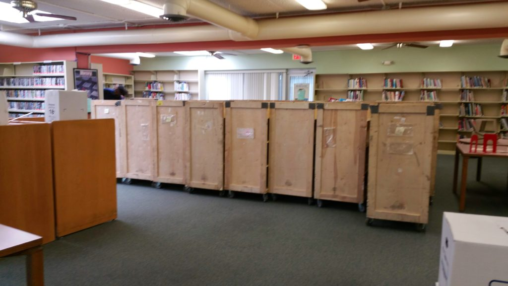 moving a local library