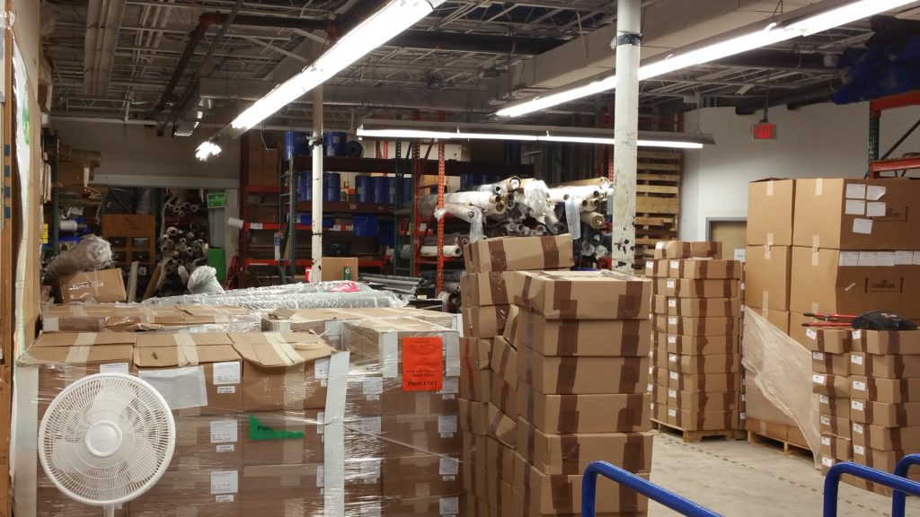 Moving a warehouse