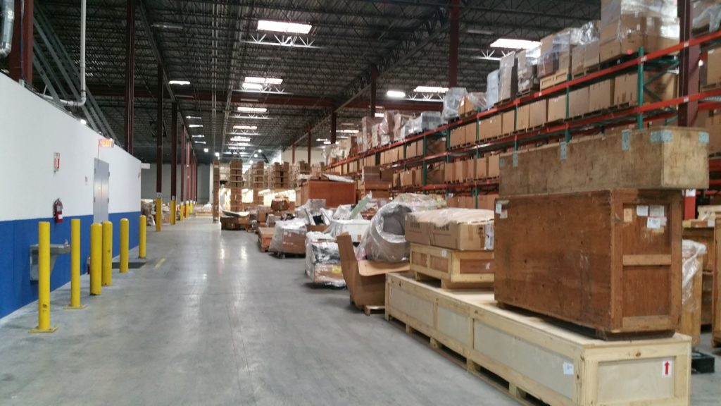 700000 sq ft warehouse moved