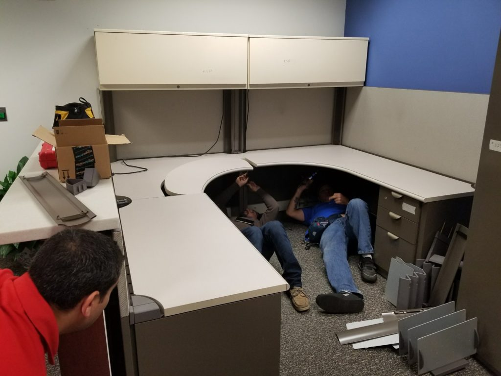 Assembly Cubicle