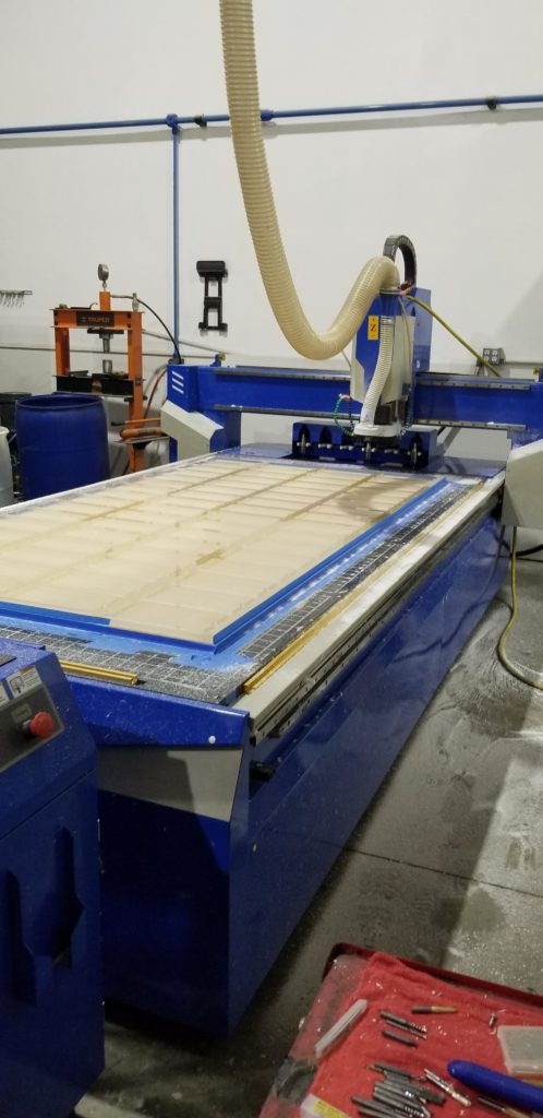 CNC Router Moved For Sign Company