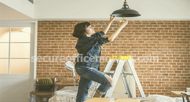 removing electrical items