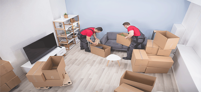 moving company in service