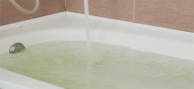 the moving tub
